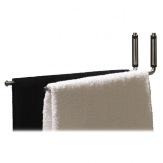 Držák ručníků d line, dvojramenný, matná nerez