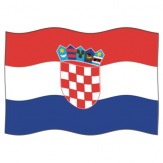 Vlajka Chorvatsko, 100x150 cm