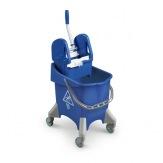 Úklidový vozík TTS Pile, modrý