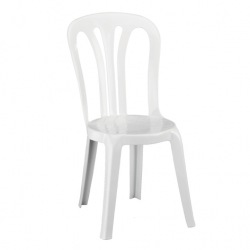 Cateringová židle GARROTXA, bílá