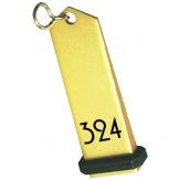 Klíčenka KH1B (KL-6465), zlatá