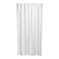 Sprchový závěs Tavere, 120×200cm, textil, bílý