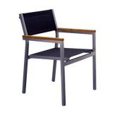 Hliníková židle Cubic Texthilene