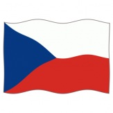 Vlajka Česká republika, 100x150 cm