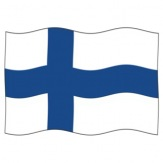 Vlajka Finsko, 100x150 cm