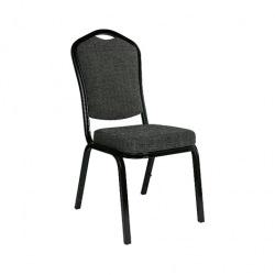 Banketní židle AMADEUS, černá
