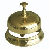 DOPRODEJ Pultový zvonek E50065, mosaz, 9,5 cm, (dříve VL61224)
