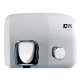 Osoušeč rukou Aura 93000 Ibero Pulsador, tlačítko, ocel, bílá