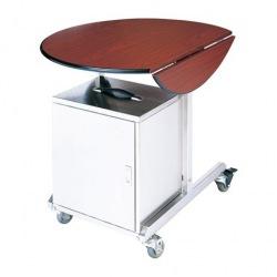 Room service vozík C-49 s izolačním boxem, nerez-lamino