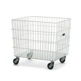 Vozík na přepravu prádla Sirio, bílý,kapacita 150 kg