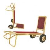 Bagážový vozík XL-2C-TG, pozlacený