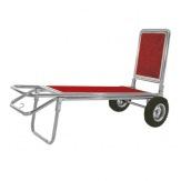 Bagážový vozík XL-2C-SS, nerez