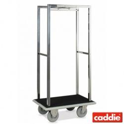 Bagážový vozík Caddie Cube, chrom