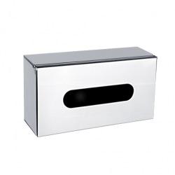 Kleenex box Unix, lesklá nerez, na zeď nebo na postavení