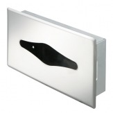 Kleenex box Geesa Standard Hotel 91123, lesklá nerez, zabudovatelný