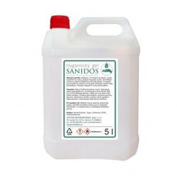 Gelová dezinfekce na ruce Sanidos, 5l