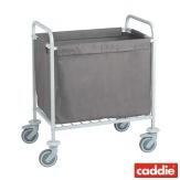 Vozík na sběr prádla Caddie Sac XS, šedá