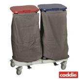 Vozík na sběr prádla Caddie Trisac Alu 2