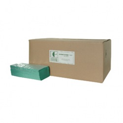 """Papírové ručníky S229, typ """"Z-Z"""", zelené"""