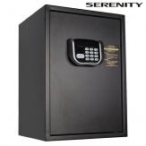 Recepční sejf Serenity B-50MX, černý