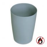 Koš bezpečnostní SLT-07016, plast, šedý