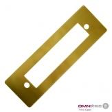 Krycí podložka Standard Gold pro zámky Gaudi 2, nerez