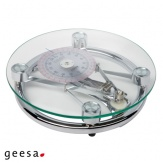 Mechanická osobní váha Geesa Hotel, průhledné sklo
