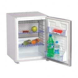 Minibar SM401PLT, 40 l, LED světlo, automatika, bílý, vestavný