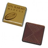 Barry Callebaut čokoládka mléčná, 5g