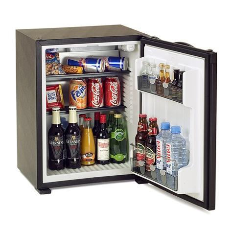 Minibar Dometic RH141LD, black | Absorption System 37-50 L | minibar.cz